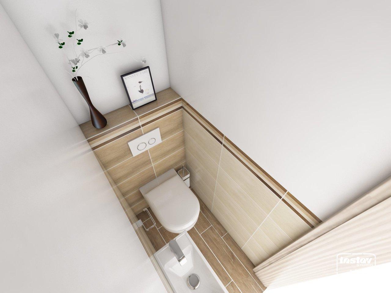 Vizualizácie kúpeľní - Vizualizácia WC - Ilma