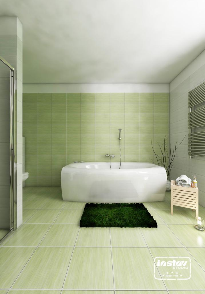 Vizualizácie kúpeľní - Vizualizácia kúpeľne - Artiga