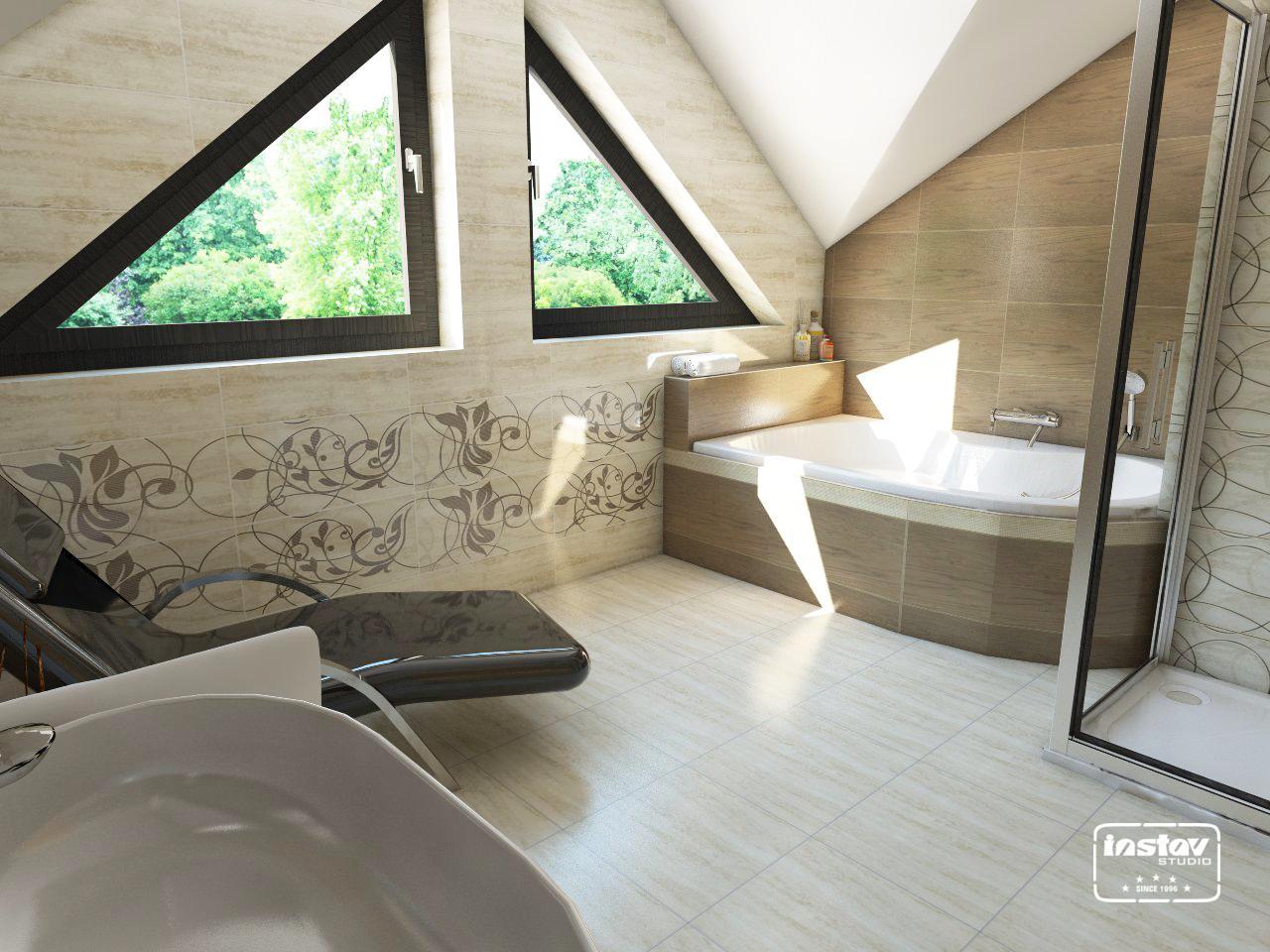 Vizualizácie kúpeľní - Vizualizácia kúpeľne - Amiche