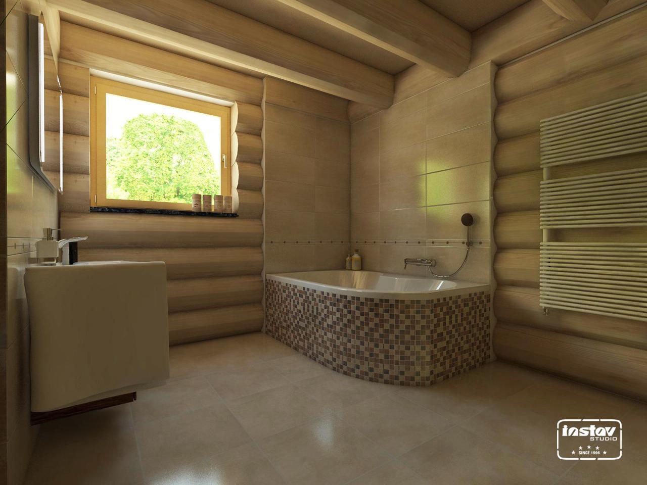 Vizualizácie kúpeľní - Vizualizácia kúpeľne - Steel