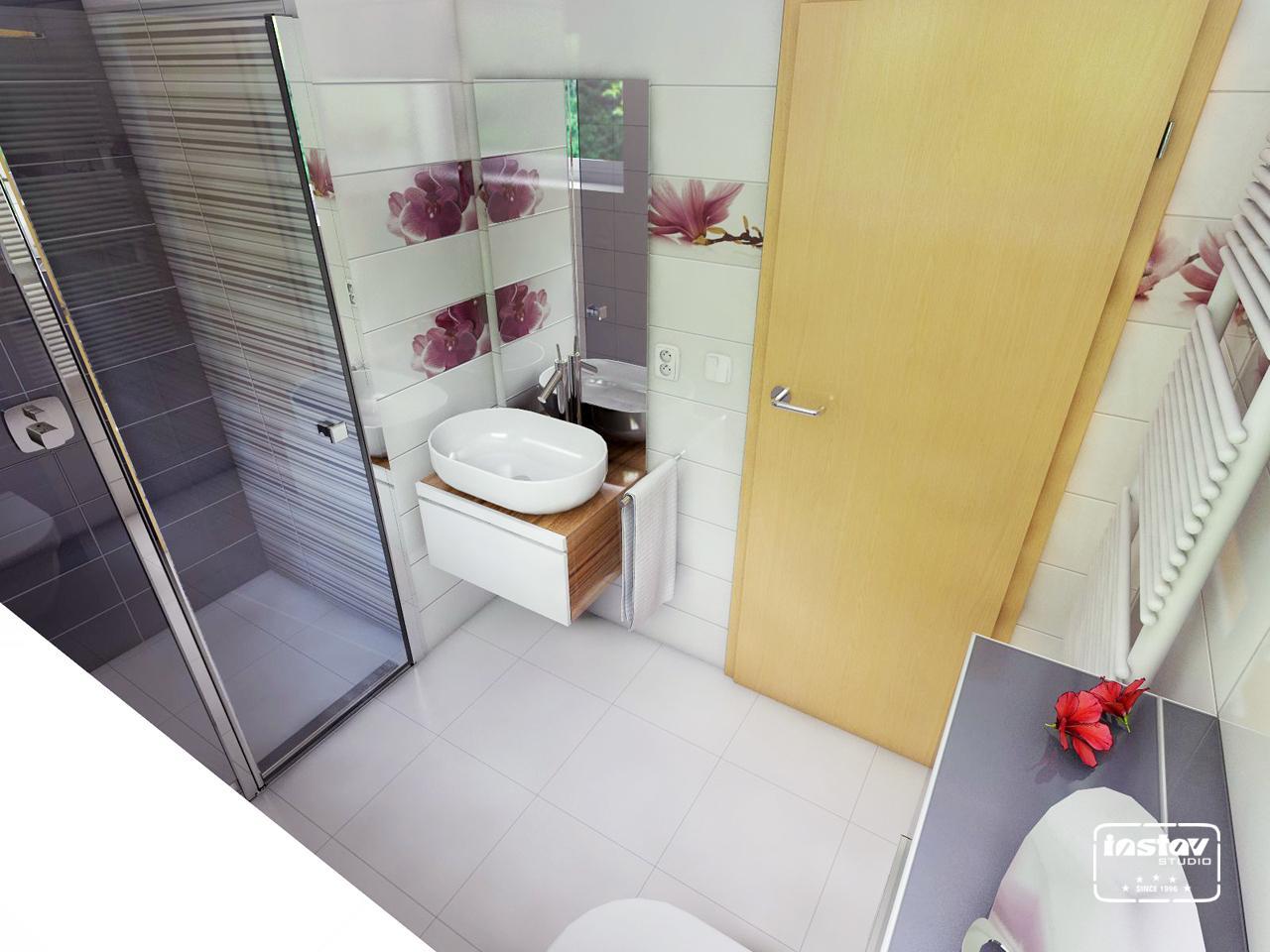 Vizualizácie kúpeľní - Vizualizácia kúpeľne - Abrila