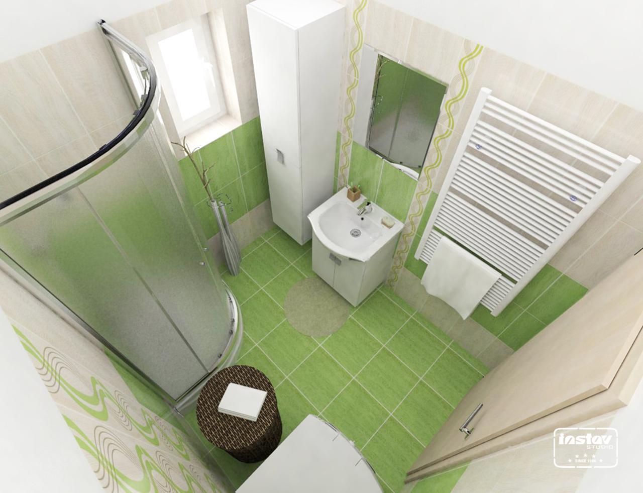 Vizualizácie kúpeľní - Vizualizácia kúpeľne - Felina