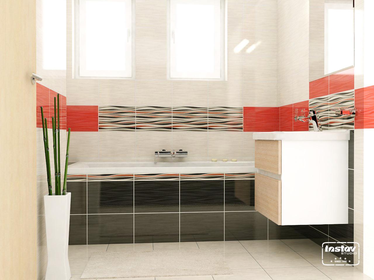 Vizualizácie kúpeľní - Vizualizácia kúpeľne - Luna
