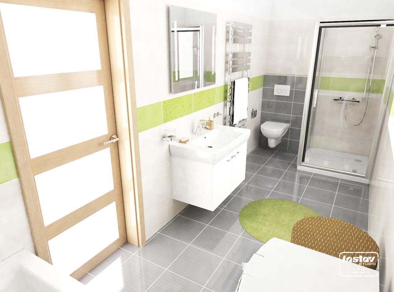Vizualizácie kúpeľní - Vizualizácia kúpeľne - Synthia