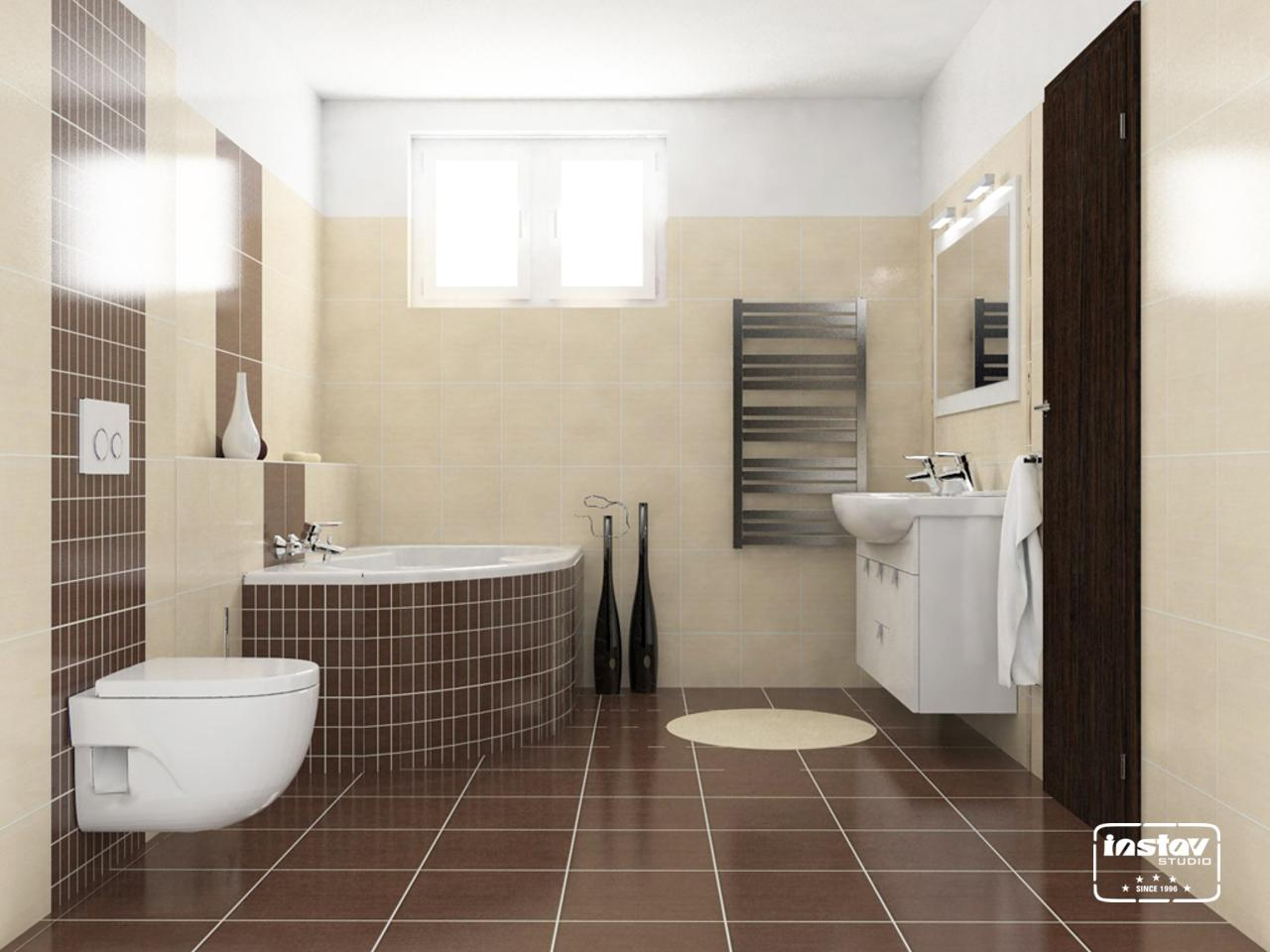 Vizualizácie kúpeľní - Vizualizácia kúpeľne - Tenera