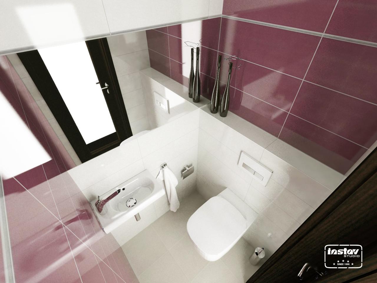 Vizualizácie kúpeľní - Vizualizácia WC - Vogue