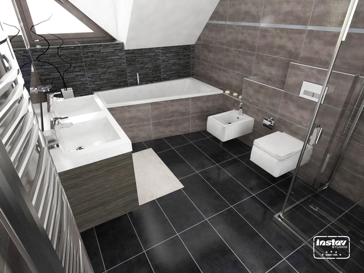 Vizualizácie kúpeľní - Vizualizácia kúpeľne - Vertigo