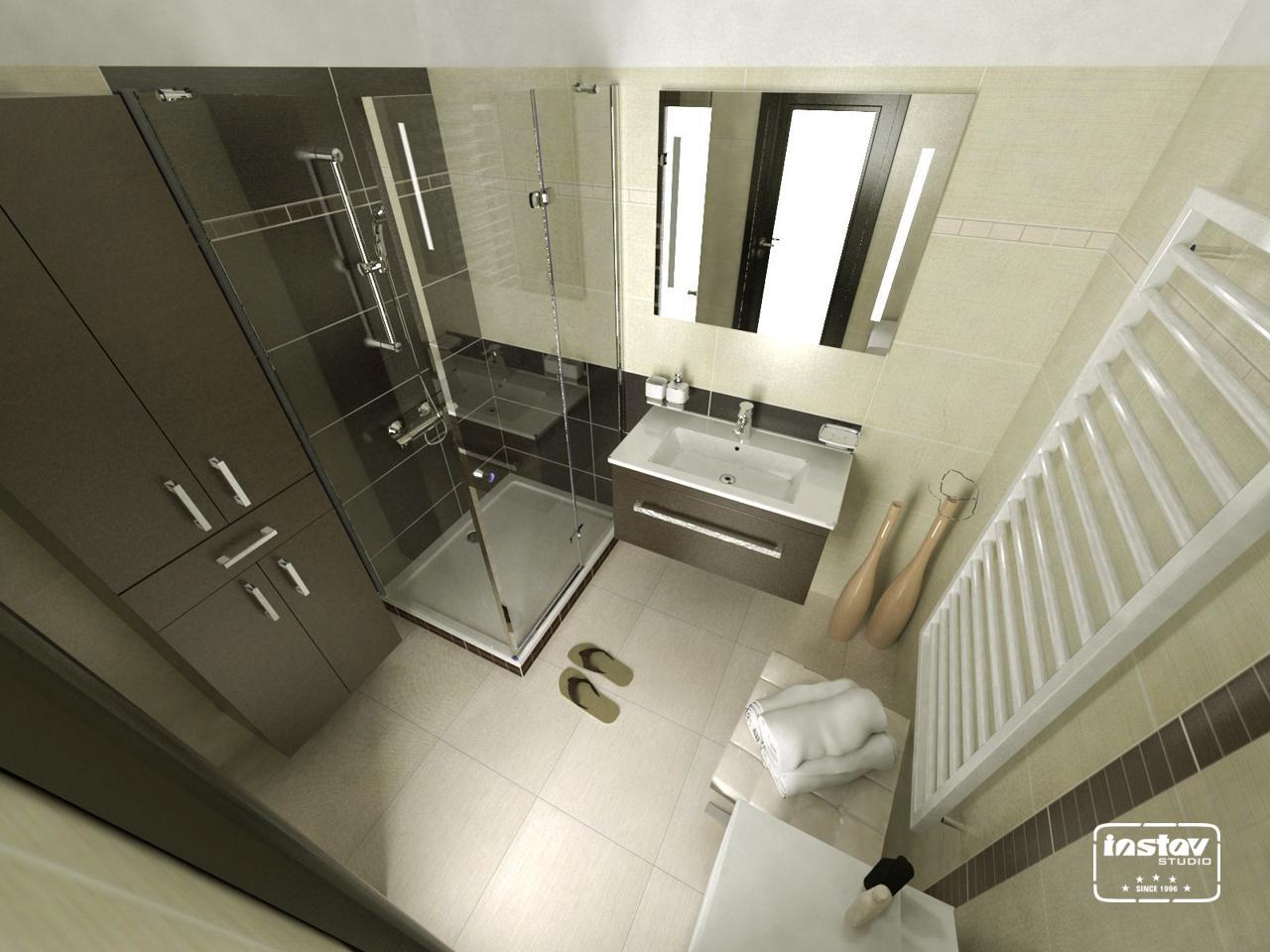 Vizualizácie kúpeľní - Vizualizácia kúpeľne - Calle