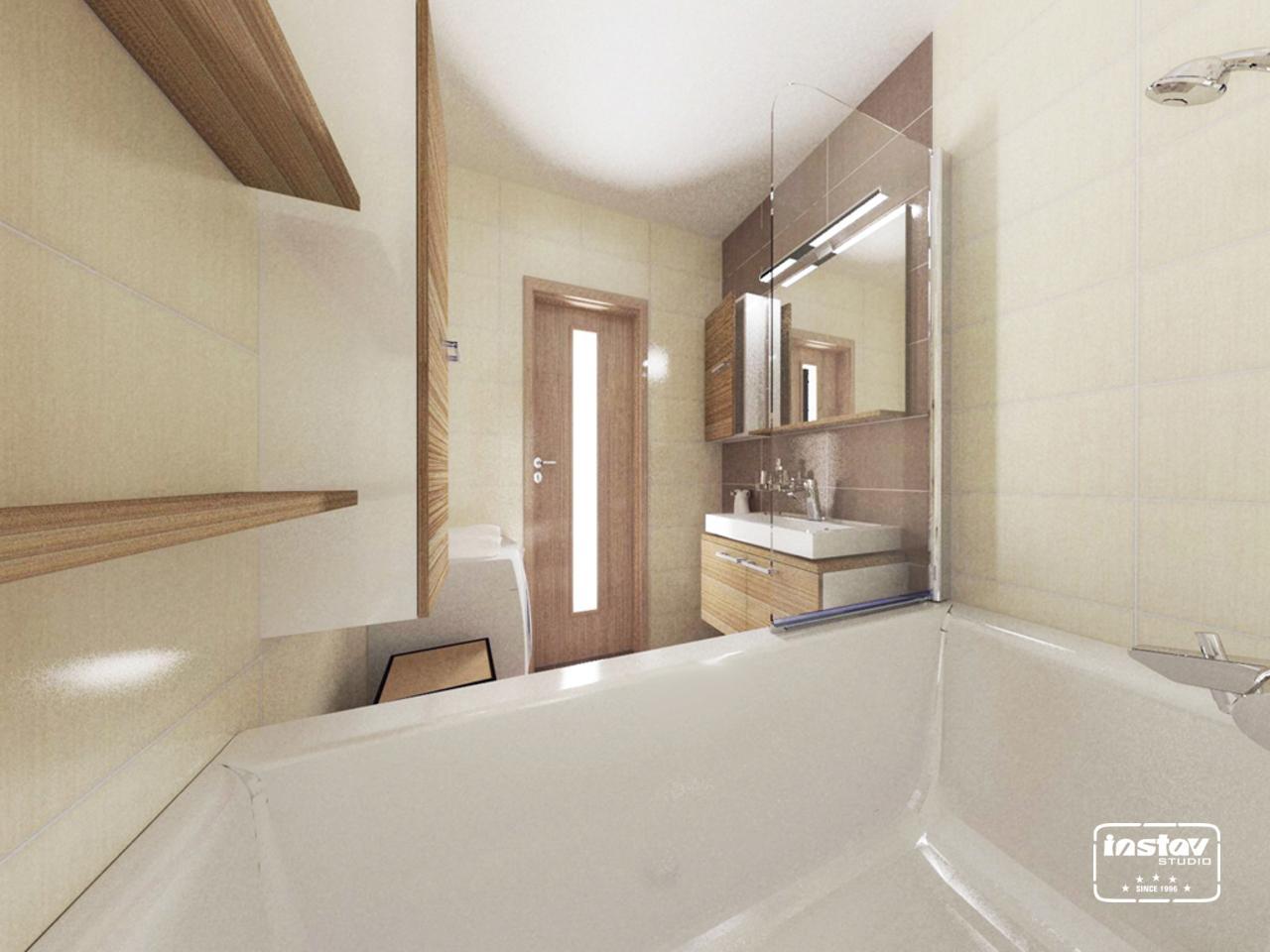 Vizualizácie kúpeľní - Vizualizácia kúpeľne - Carioca