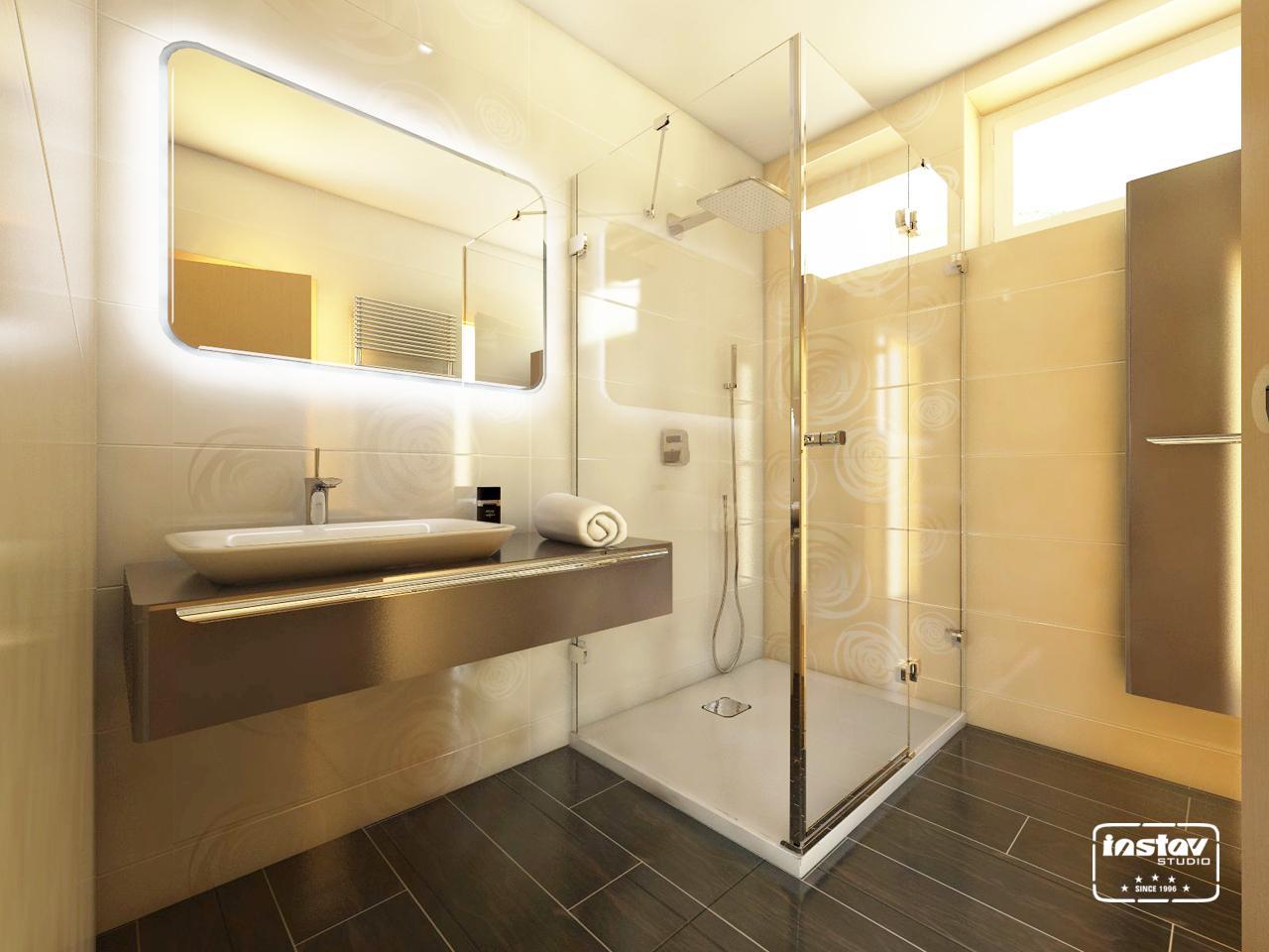 Vizualizácie kúpeľní - Vizualizácia kúpeľne - Intensity