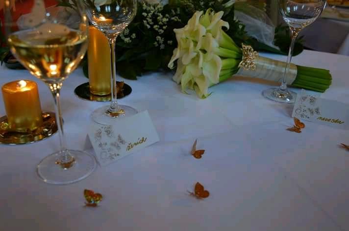 Konfety motýle zlaté - Obrázok č. 2