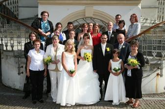 Rodina a nejbližší přátelé