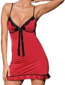 Červená erotická košilka, 36
