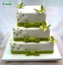 nasa objednana torta
