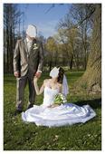 Svatební oblek, vesta, kravate, 52
