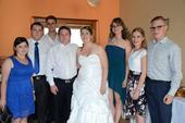 Svadobné šaty s ružami , 46
