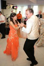 Manžel s mojou najmladšou sestričkou Domkou