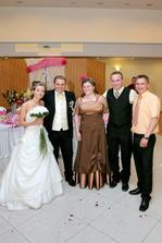 Manželova sestra s manželom a brat Vladko :)