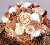 Ponúkam dekorativne voňavé mydlové kytice,