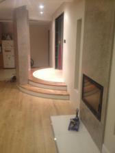Manželova praca,naše nove orechové schodečky