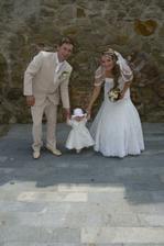 s mojim krsniatkom Sarikou