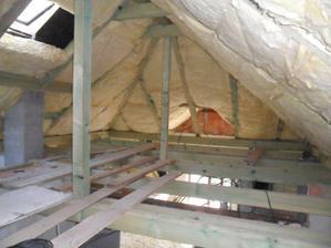 strecha komplet zateplena prvou izolaciou