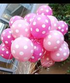 balonky a ubrousky puntík,