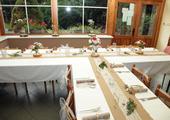 Jutové běhouny na svatební stůl - š. 29 cm,