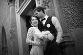 Svatební šaty od Zuzany Lešák Černý, 34