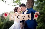 Svatební girlanda,