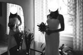 svatební (možno i těhotenské) šaty, 38