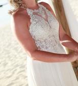 Svatební šaty ideální k moři, 36