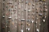 Origami jeřábi,