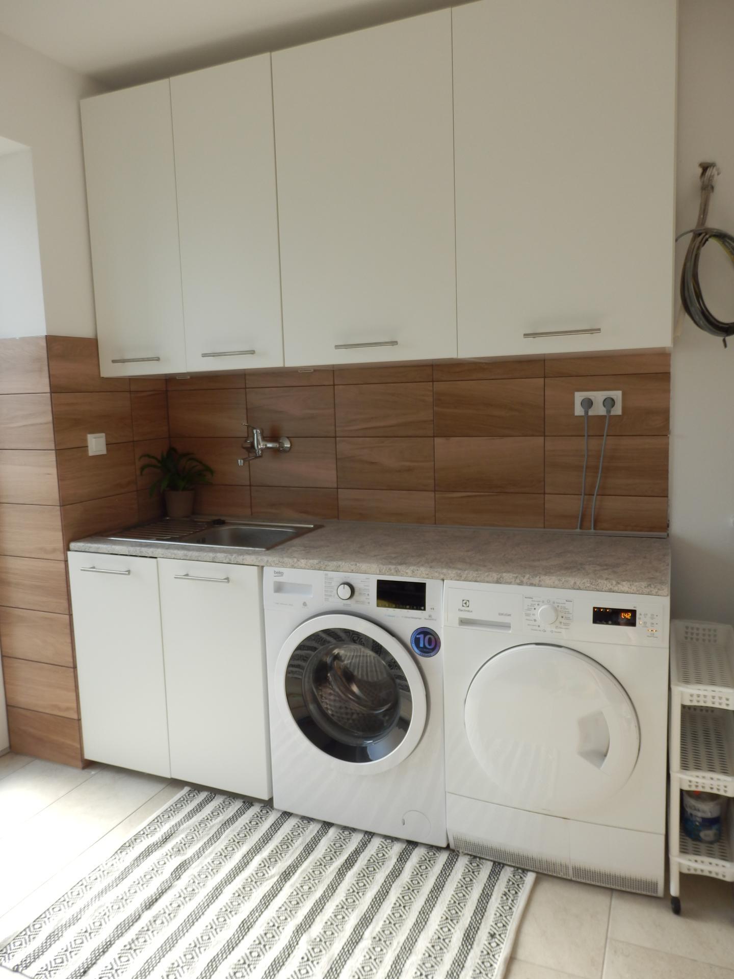 Nový DOMOV - Technická místnost + prádelna