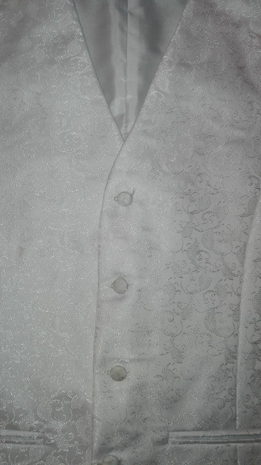 Set vesta,kravata,vreckovka - Obrázok č. 3