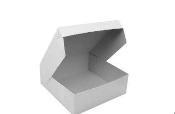 krabičky na výslužku papírové, 20x20 - Obrázek č. 1