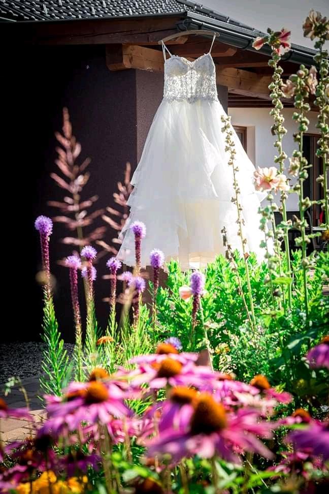 nádherné značkové svatební šaty Mori Lee 36-38, 40-42 - Obrázek č. 2