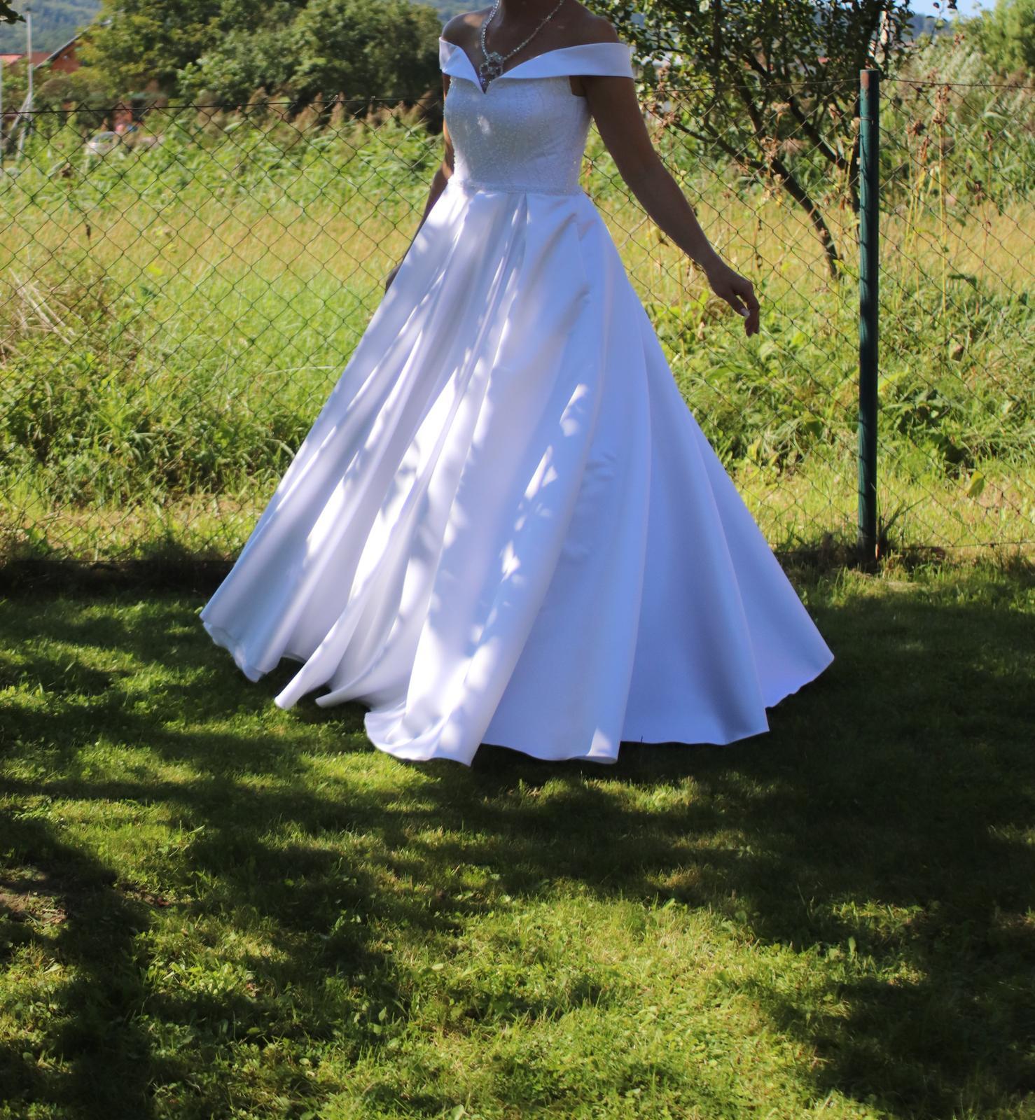 Svadobné šaty 38/40 - Obrázok č. 3