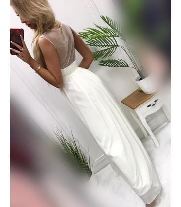 Nové  smotanové šaty veľkosť xs - Obrázok č. 3