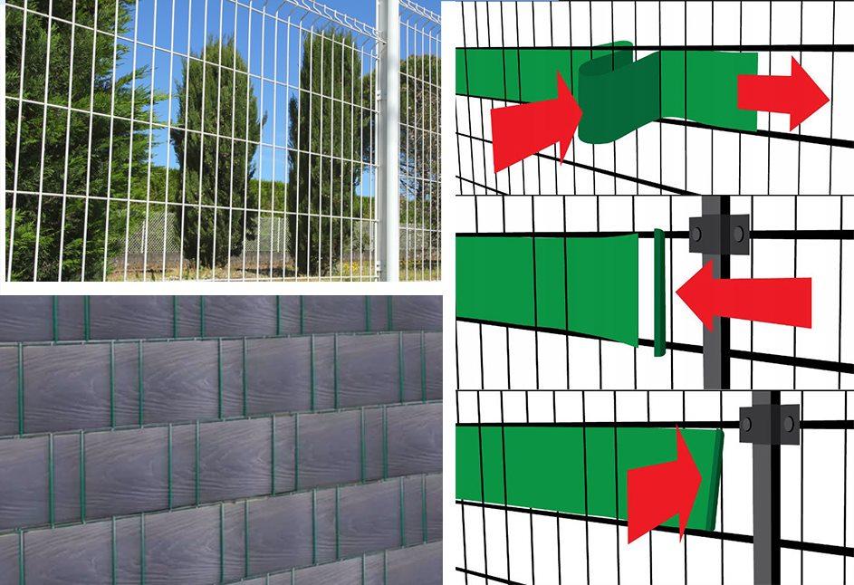 Ratanová krycia páska do vašej záhrady GRAFIT - Obrázok č. 2