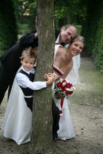 moji miláčkové, manžel a bráška