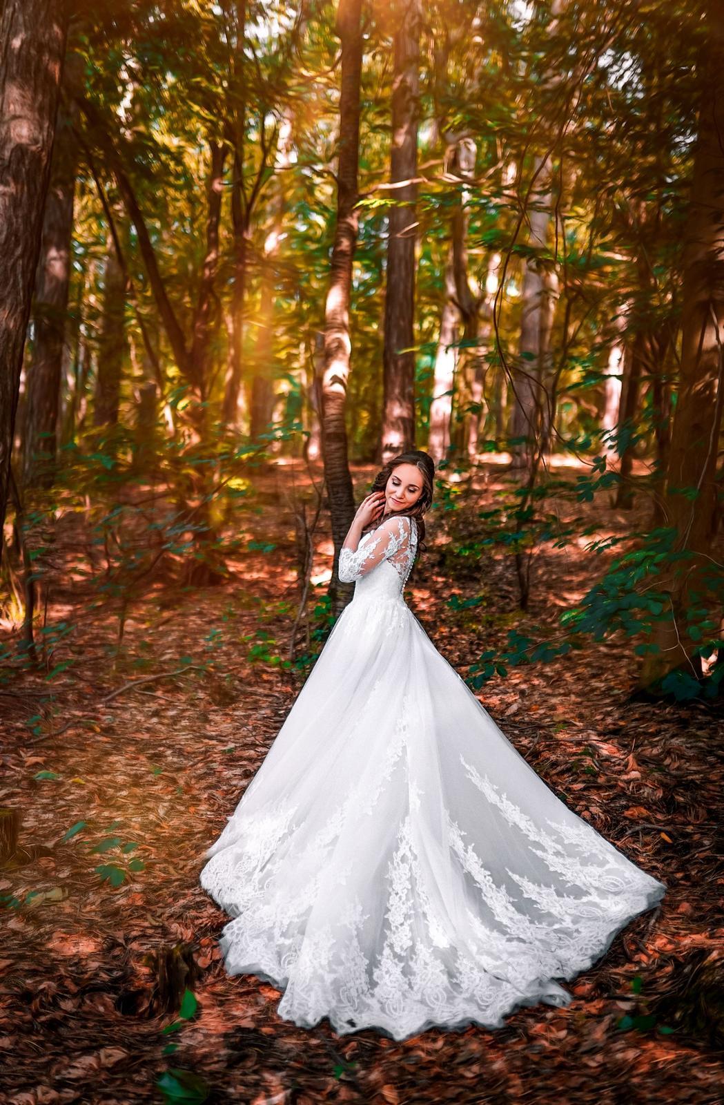 Svatební šaty XS / XXS - Obrázek č. 1