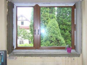 plastové okná v imitácii dreva
