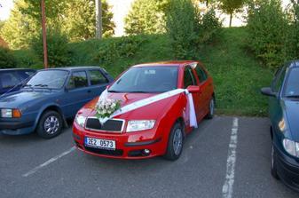 Vezlo mě tohle naše krásné autíčko
