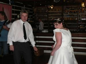 A takhle jsem to pak rozjížděla se svědkem ženicha :-)