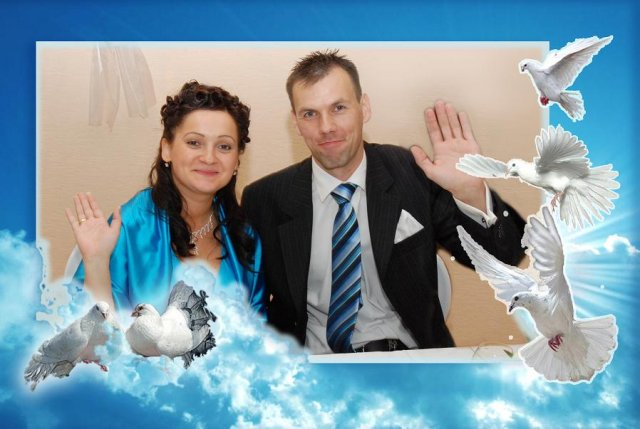 Naša svadba :) - po pol noci :)