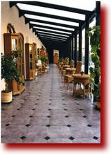atrium v hotelu Rustikal