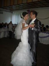 ...náš prvý novomanželský tanček....