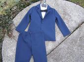 Chlapecký oblek sako + kalhoty, 116