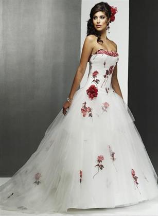 Svatební šaty - růžové i červené až do bordó - Obrázek č. 37